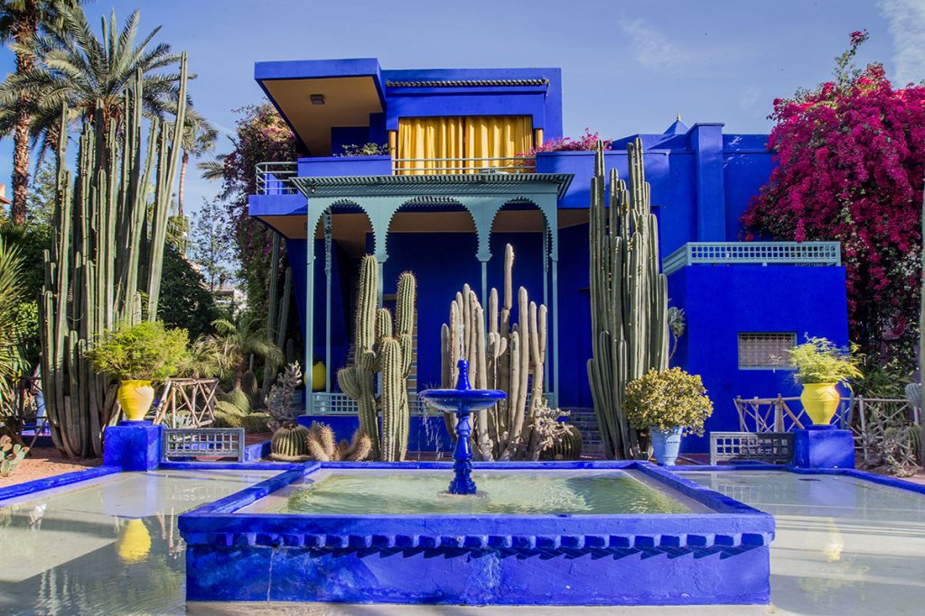 Giardini Majorelle a Marrakech, Marocco