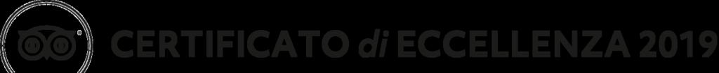 Certificato di Eccellenza 2019 - TripAdvisor